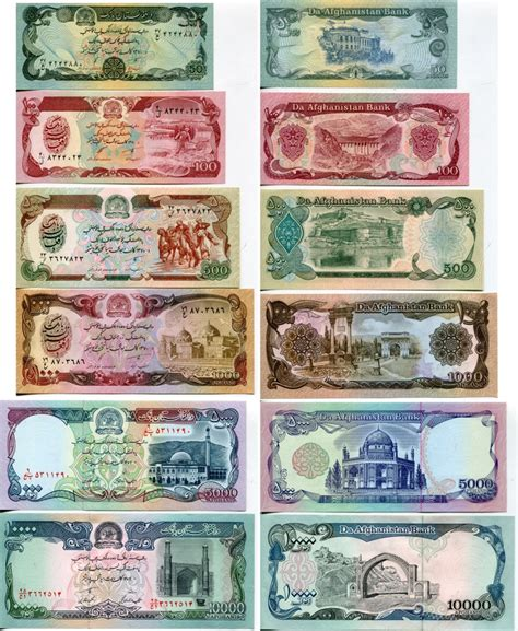 historic afghanistan coins  banknotes