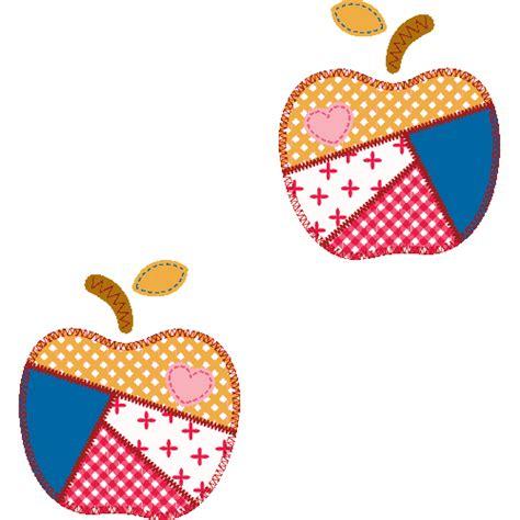 10リンゴのアップリケの壁紙 元画像・無料素材/壁紙tank