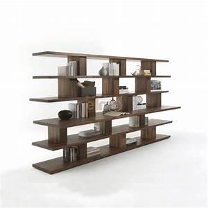 Bibliothèque Moderne Design : biblioth que moderne ouverte plan en saillie 100 bois massif cubic ~ Teatrodelosmanantiales.com Idées de Décoration