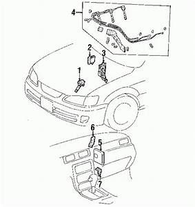 2000 Toyota Camry Parts Diagram