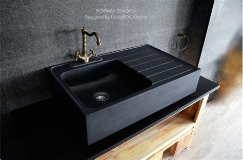 copper apron sink 900mm black granite kitchen sink shadow