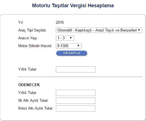 Tekne Vergisi Hesaplama motorlu taşıtlar vergisi 2018 mtv hesaplama ve sorgulama