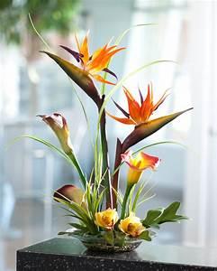 Tropical Bird o... Silk Flowers