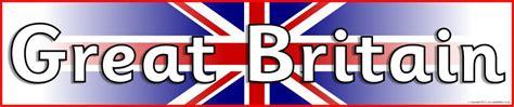 great britain display banner sb sparklebox
