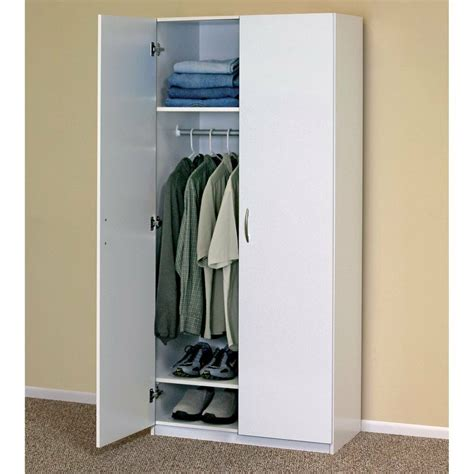 Wardrobe Cabinet Closet by White Wardrobe Cabinet Clothing Closet Storage Modern
