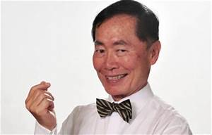 Oh My! George Takei turns 75 today!