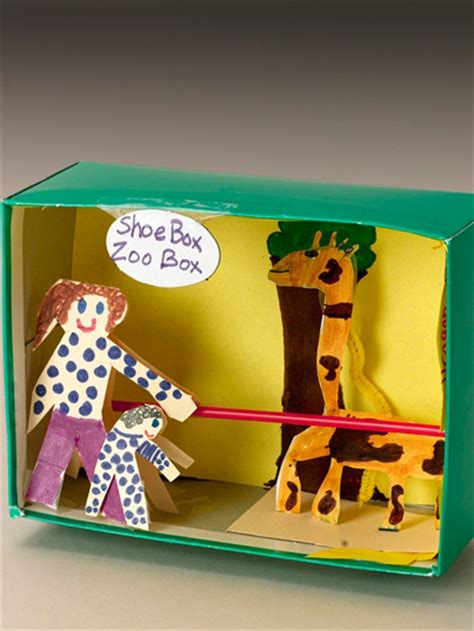 box crafts ideas 11 shoebox crafts for today s parent 1165