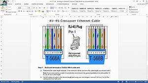 4 2 2 7 Lab - Building An Ethernet Crossover Cable