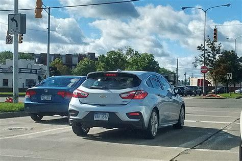 Chevy Cruze Hatchback Spied In Detroit