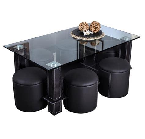 table basse avec pouf int 233 gr 233 table basse avec pouf