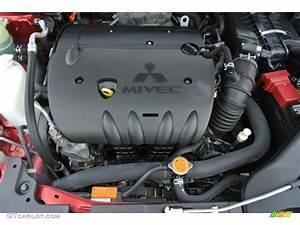 2010 Mitsubishi Lancer Gts Engine Photos