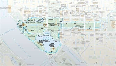 parking garages in dc near national mall map of national mall my