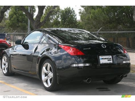 nissan coupe 350z magnetic black 2008 nissan 350z coupe exterior photo