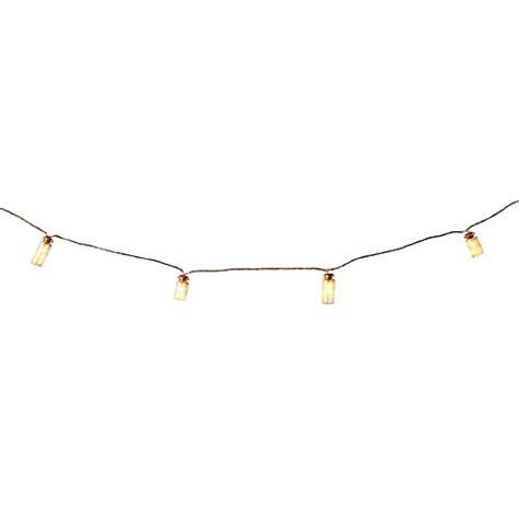 mini glass jar led string lights bed bath beyond