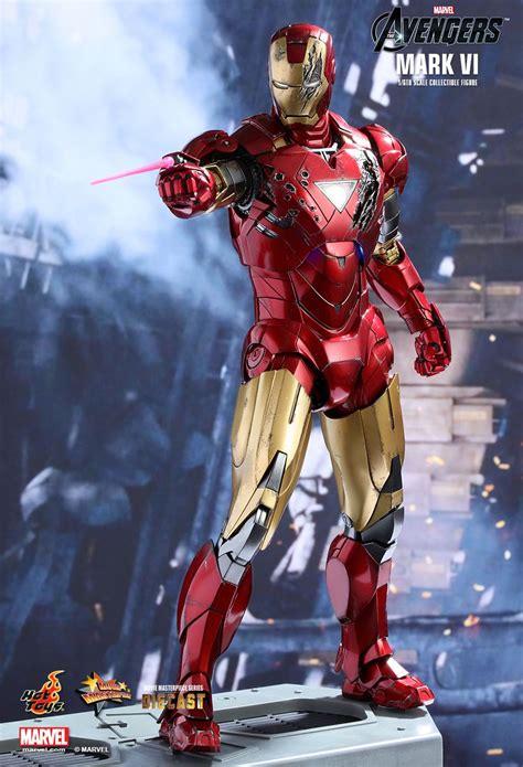 hot toys  marvel  avengers mmsd die cast iron