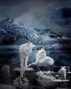 Spirit Wolf Howling