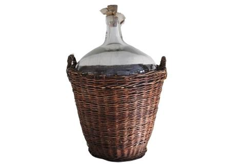 wine basket bottle vintner omerohome