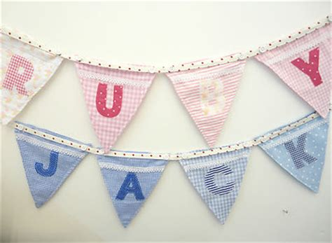 Personalised Boat Flags Uk by Personalised Bunting Flags Letters Boat Motifs