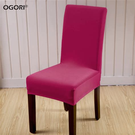 2 pcs dining room decoration chair cover spandex fabric