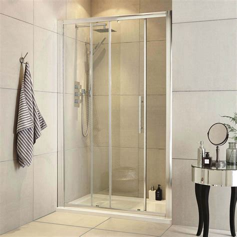 ultra apex sliding shower door  size options