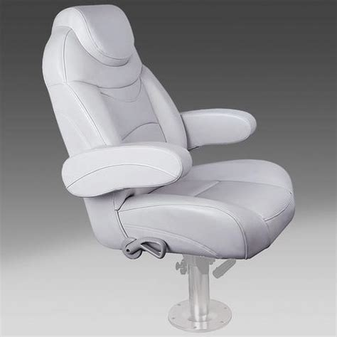 Sweetwater Pontoon Captains Chair by Deckmate Classic Pontoon Boat Seats Pontoonstuff