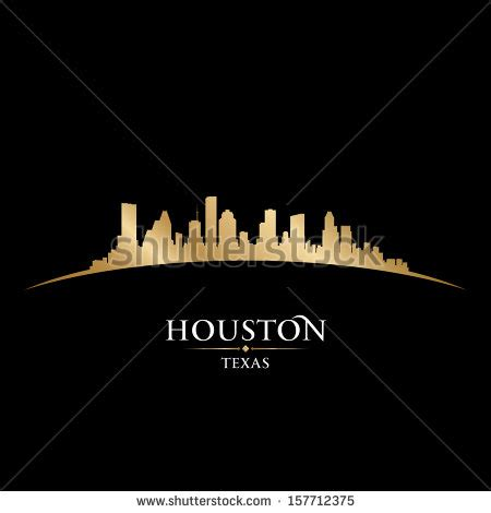 graphic design houston houston skyline stock images royalty free images