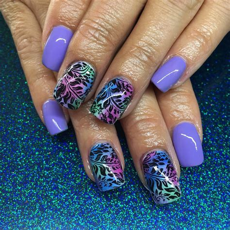 trending nail designs 30 colourful acrylic nail designs ideas design
