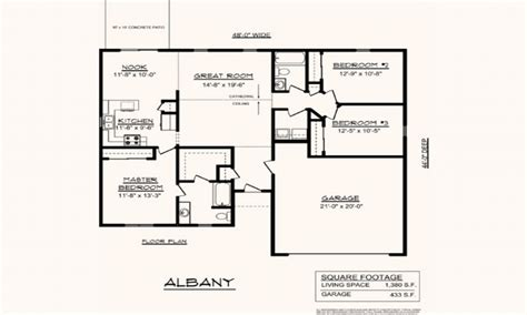 Single Story Open Floor Plans Boomerminium Floor Plans ...