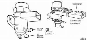 93 Ford Ranger  Vacuum Diagram  4 O Efi Automatic 4 Wheel