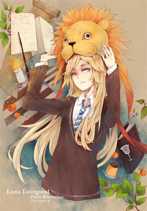 dating site for anime fans luna lovegood harry potter mobile wallpaper 728299