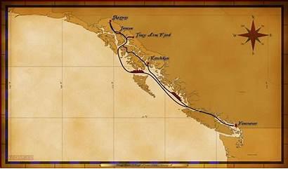 Itinerary Cruise Disney Wonder Alaskan Night Line