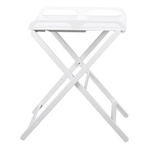 table 224 langer pliante jade laqu 233 blanc combelle univers b 233 b 233 smallable