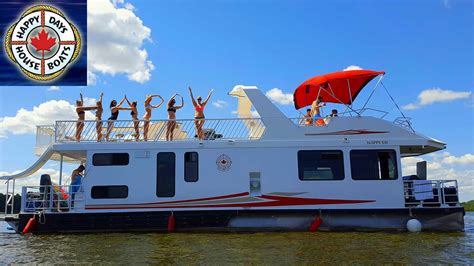 House Boat Trent Severn by Happy Days Houseboats Rental Trent Severn Kawarthas