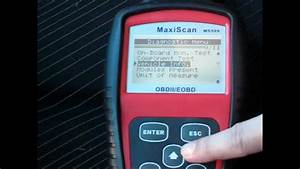 Peugeot 307 Obdii Scan With Maxiscan Ms509