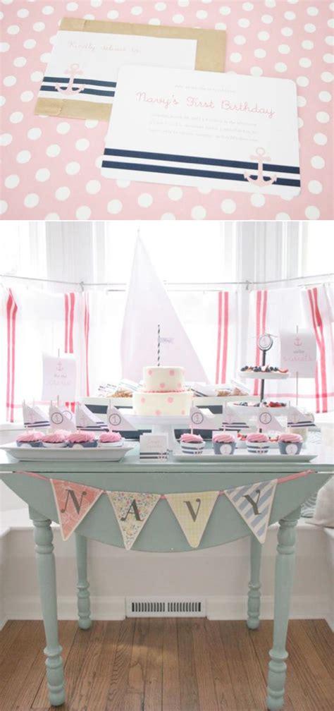 karas party ideas sailor girl nautical birthday party