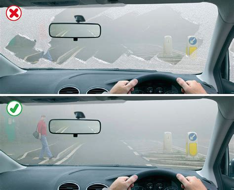 Set Of Mirrors by Driving In Adverse Weather Conditions 226 To 237 The