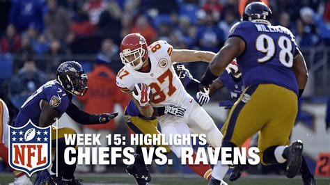 chiefs  ravens week  highlights nfl youtube