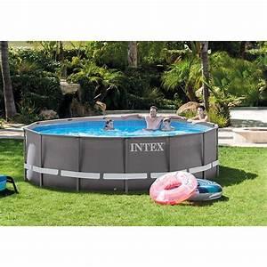 Piscine Tubulaire Intex : piscine intex ultra frame 4 27 x m piscine tubulaire ~ Nature-et-papiers.com Idées de Décoration