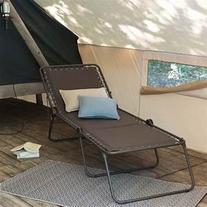 Lafuma Chaise Longue : chaise longue lafuma pour camping r sistante made in france ~ Nature-et-papiers.com Idées de Décoration