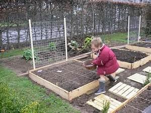 Faire Un Petit Potager En Carré : construire carr potager ekipia ~ Melissatoandfro.com Idées de Décoration