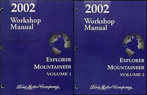 2002 Ford Explorer Sport  U0026 Sport Trac Repair Shop Manual