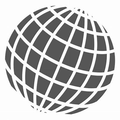 Globe Grid Globo Icon Symbol Icono Transparent
