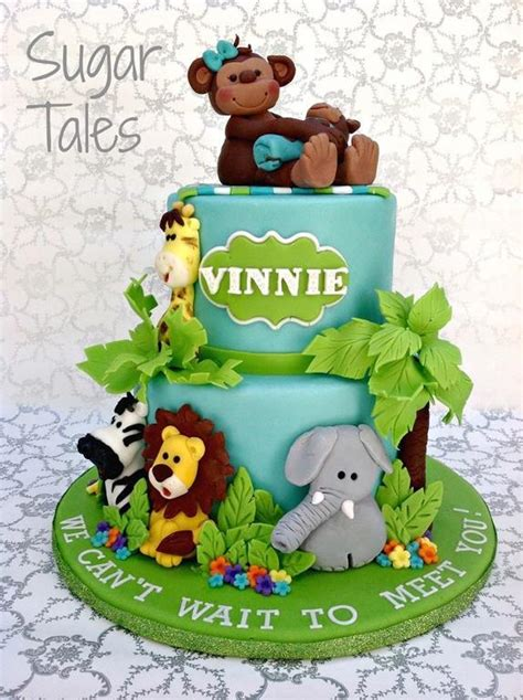 Jungle Themed Cakes And Cupcakes Wild Inspiration