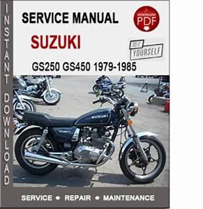 Suzuki Gs250 Gs450 1979
