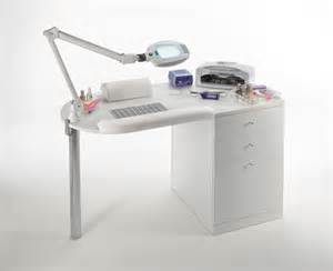 Acrylic Desk Chair With Wheels by Maletti Star Nail Premium Manicure Table