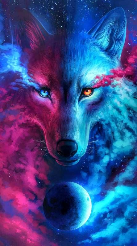 Galaxy Wolf Wallpaper by Galaxy Wolf Wallpapers Free By Zedge
