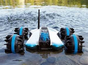 Rover Land Sea Amphibious App Controlled Vehicle With
