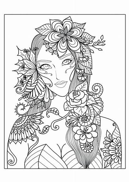 Coloring Pages Complex Animal Printable Colorings Adults