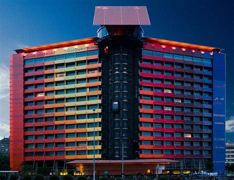 Hotel Puerta America, Madrid, Spain, 2002 — 2005 José