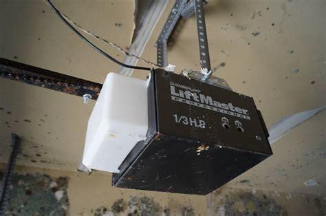 chamberlain liftmaster 1 3 hp garage door opener 9 x 7 garage door and chamberlain liftmaster 1 3 hp garage door opener w door and rails